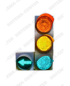 T1l1/T1r1 vehicle traffic light with additional panel: Фото - Система центр