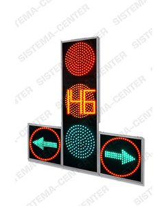 T.1rl2 vehicle road traffic light with two additional panels complete with TOOV : Фото - Система центр