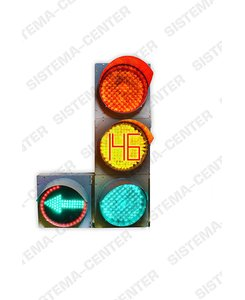 T.1l2/Т.1r2 traffic light with additional panel (complete with TOOV): Фото - Система центр